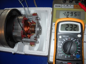 Motor Aspiradora Directo 230 V. 1.000 W