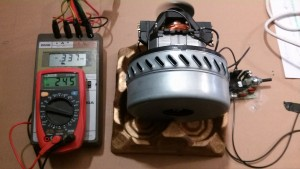 Motor de 2 Turbinas con Regulador a 337 W