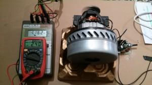 Motor con Regulador a Potencia Máxima de 1.162 W