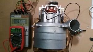 Motor con Regulador a Potencia Mínima de 341 W