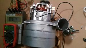 Motor con Regulador de la Potencia de 674 W